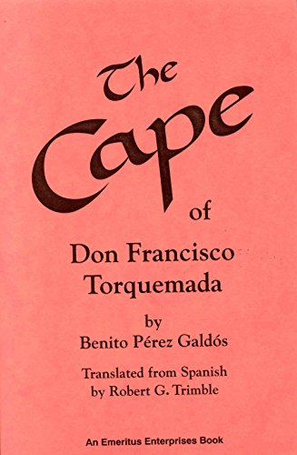 9780913960479: The Cape of Don Francisco Torquemada