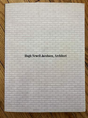 9780913962954: Hugh Newell Jacobsen, Architect