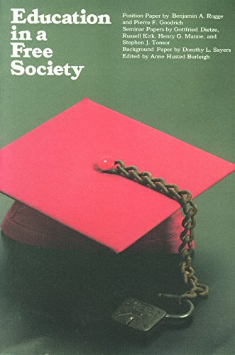 9780913966457: Education in a Free Society