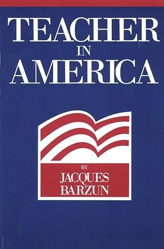 9780913966792: Teacher in America