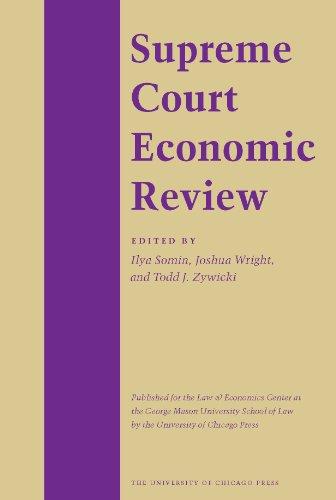 SUPREME COURT ECONOMIC REVIEW, VOLUME 3: Demsetz, Harold