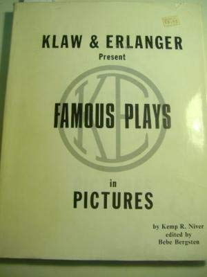Klaw and Erlanger: Famous Plays in Pictures: Niver, Kemp R.