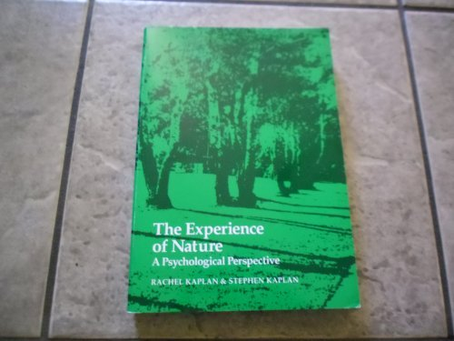9780914004516: Experience of Nature
