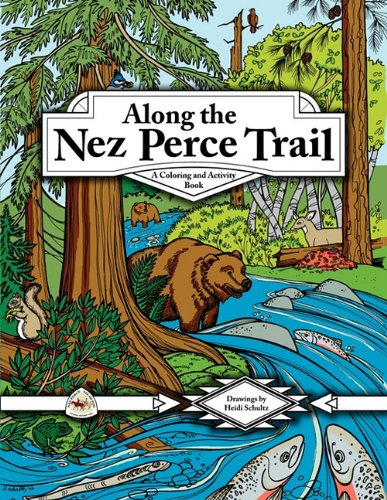 9780914019619: Along the Nez Perce Trail: A Coloring and Activity Book