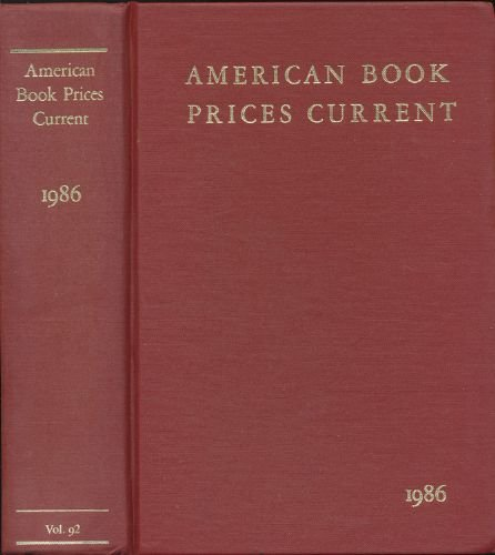 American Book Prices Current: Leab
