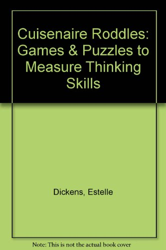 Cuisenaire Roddles: Games & Puzzles to Measure: Sellon, Jeffrey, Dickens,