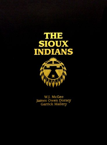 9780914074069: The Sioux Indians: A Socio-Ethnological History