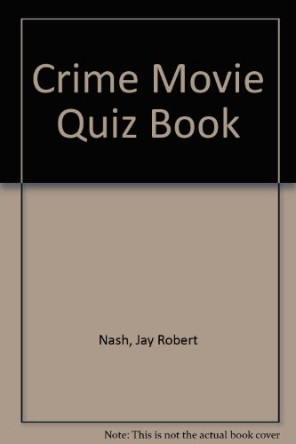 Crime Movie Quiz Book