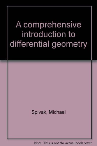 9780914098027: A Comprehensive Introduction to Differential Geometry, Vol. 3