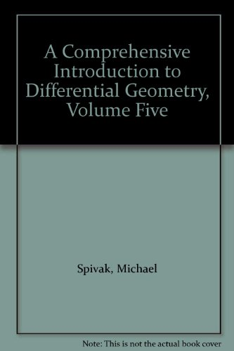 9780914098041: A Comprehensive Introduction to Differential Geometry: Volume Five