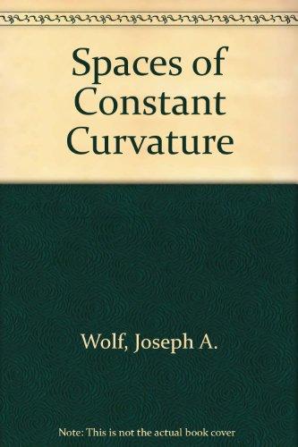 9780914098072: Spaces of Constant Curvature