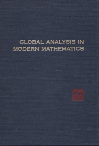 9780914098294: Global Analysis in Modern Mathematics