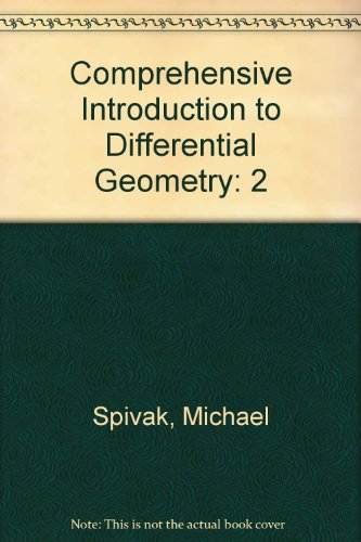 9780914098850: Comprehensive Introduction to Differential Geometry: 2
