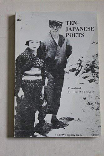 9780914102007: Ten Japanese poets (A Granite poetry book)