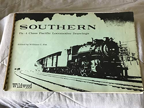9780914104001: Southern Ps-4 class Pacific locomotive drawings
