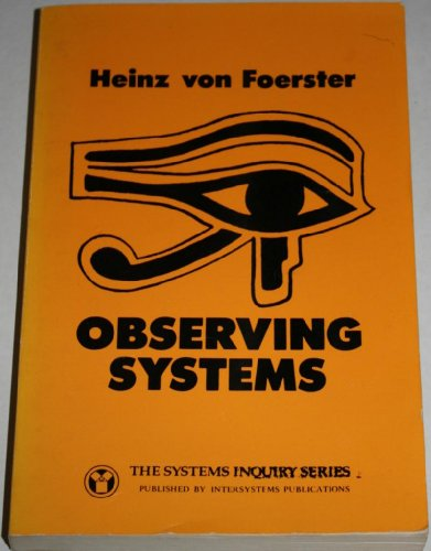 9780914105190: Observing Systems (Systems Inquiry Series)