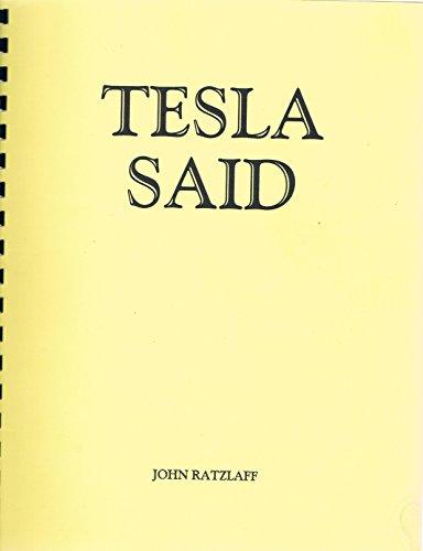 9780914119005: Tesla Said