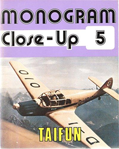 9780914144052: Monogram Close-Up 5: Messerschmitt Bf 108 Taifun