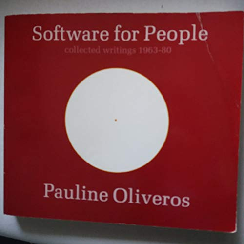 9780914162605: Software for People Collected Writings 1963-80