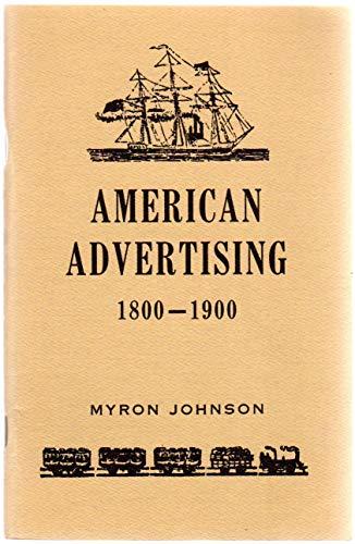 American Advertising 1800-1900: Americana Review