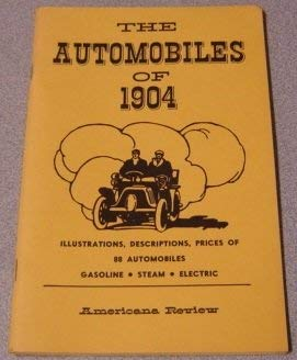 The Automobiles of 1904: Review, Americana