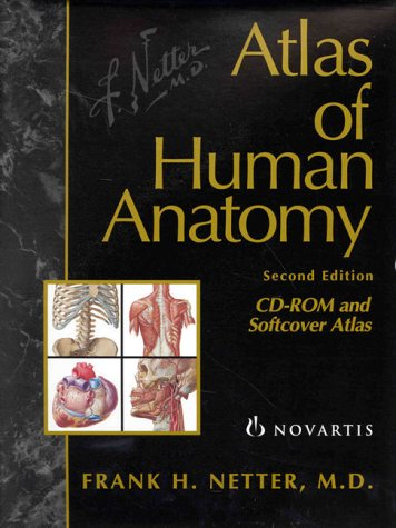 9780914168843: Atlas of Human Anatomy: Combination Package (Book & CD-ROM)