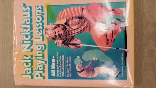 9780914178422: Jack Nicklaus' Playing lessons