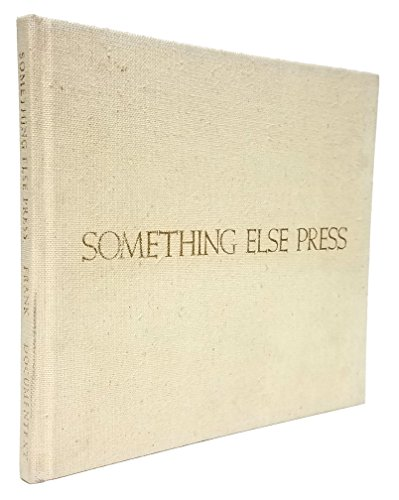 9780914232407: Something Else Press: An Annotated Bibliography