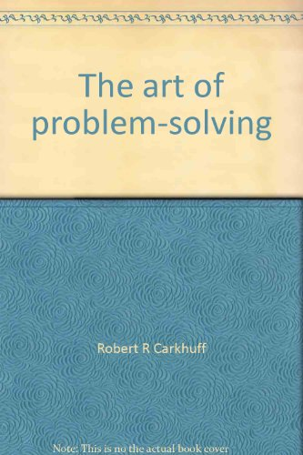 9780914234012: The art of problem-solving