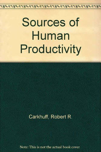 9780914234753: Sources of Human Productivity