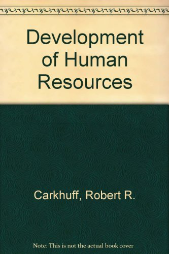 9780914234913: Development of Human Resources