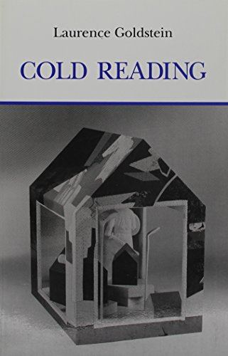 Cold Reading (0914278665) by Laurence Goldstein