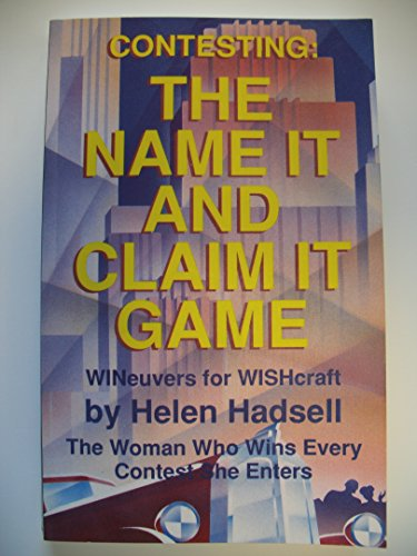 Contesting : The Name It and Claim: Helene Hadsell