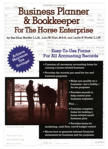 9780914327653: Business Planner & Bookkeeper for the Horse Enterprise