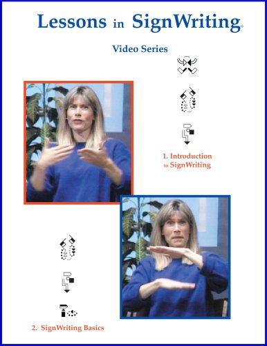 9780914336723: Lessons in SignWriting Video Series on DVD with 2 Booklets