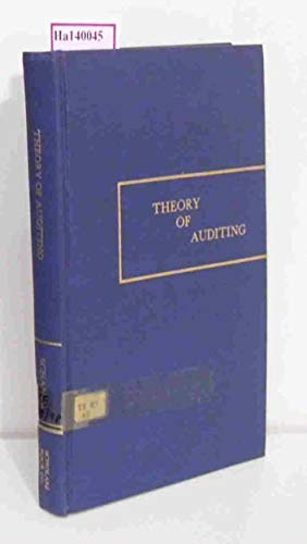 9780914348238: Theory of Auditing: Evaluation, Investigation, and Judgement