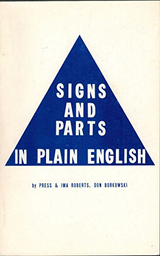 9780914350125: Signs and Parts in Plain English