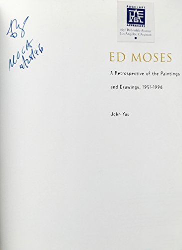 9780914357421: Ed Moses: A Retrospective of Paintings and Drawings, 1951-1996