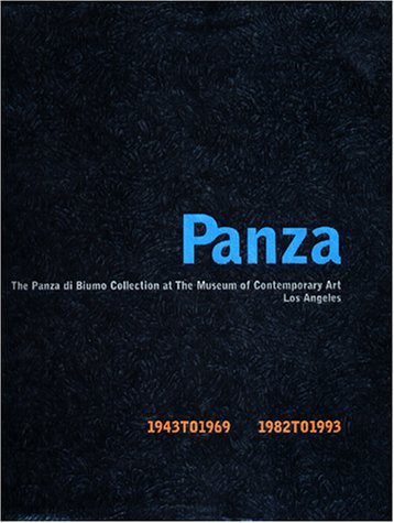9780914357735: Panza: The Legacy of a Collector (The Panza di Biumo Collection at the Museum of Contemporary Art, Los Angeles)
