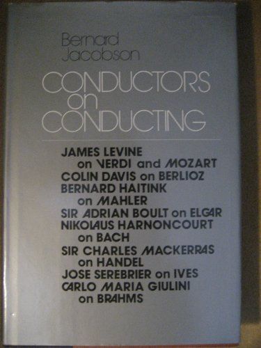 Conductors on Conducting: Jacobson, Bernard