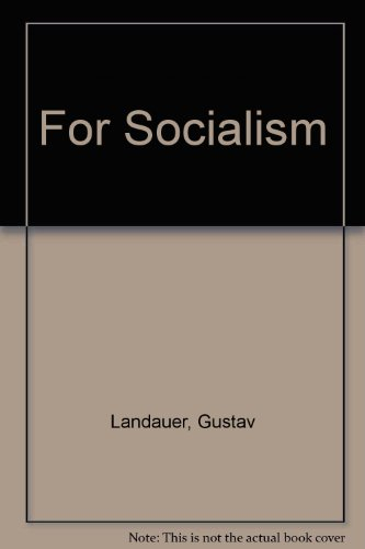 9780914386100: For Socialism