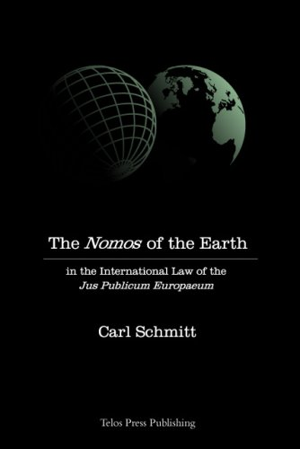 9780914386308: The Nomos of the Earth in the International Law of Jus Publicum Europaeum