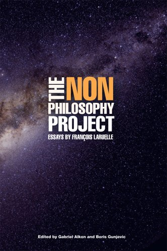 9780914386476: The Non-Philosophy Project: Essays by Francois Laruelle