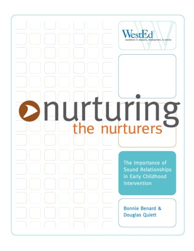 9780914409090: Nurturing the Nurturers: The Importance of Sound Relationships in Early Childhood Intervention