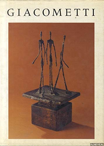 Alberto Giacometti: Lamarche-Vadel, Bernard Translated By Kit Currie
