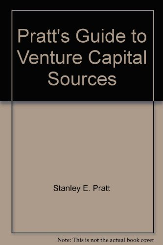 Pratt's Guide to Venture Capital Sources