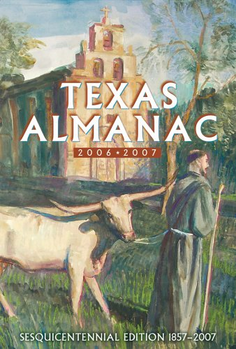 9780914511380: Texas Almanac: Sesquicentennial Edition