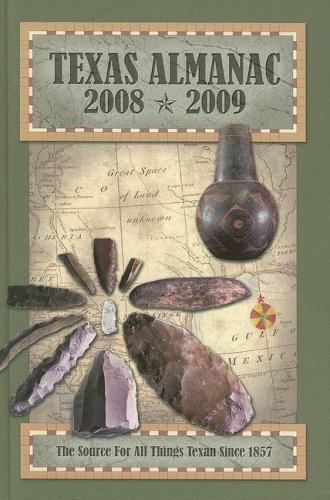 9780914511403: Texas Almanac 2008-2009: The Source for All Things Texan Since 1857