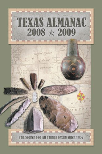 9780914511410: Texas Almanac, 2008-2009, 64th ed