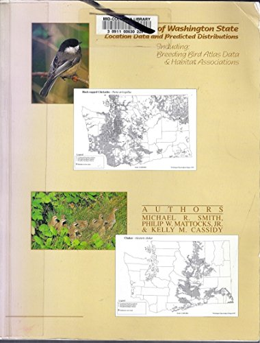 9780914516095: Breeding Birds of Washington State: Location Data and Predicted Distributions
